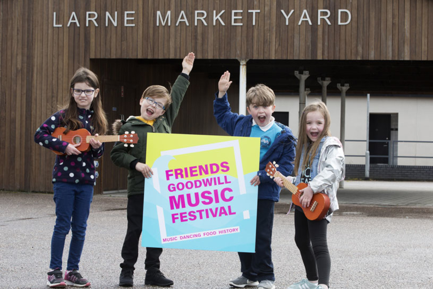 Friends Goodwill Music Festival returns to Larne image