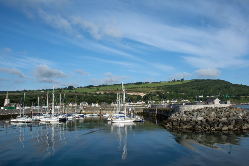Glenarm Marina sails home with Excellence in Tourism Award image