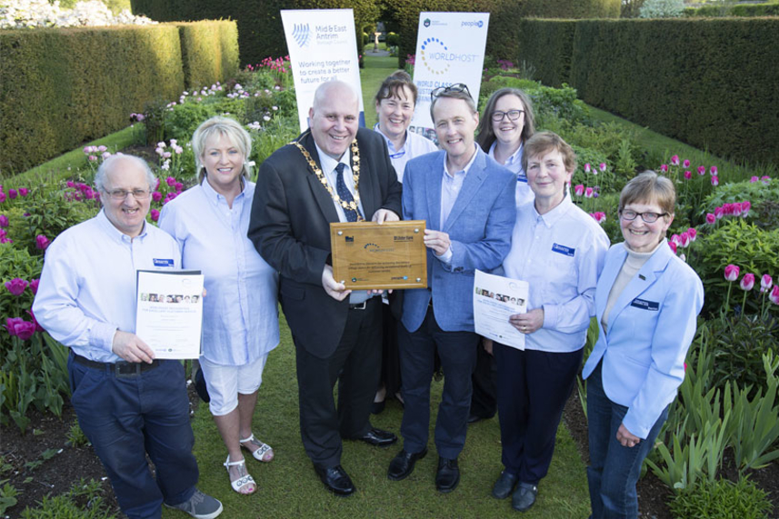 Glenarm retains WorldHost Destination Village image