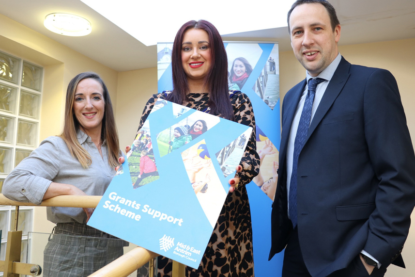 Grants up for grabs from Mid and East Antrim Borough Council image