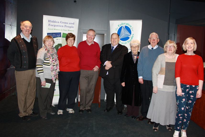 Great turnout for the launch of Hidden Gems and Forgotten People exhibition image