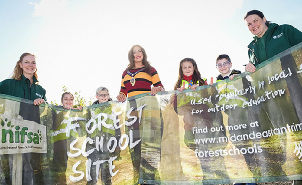 Grow your knowledge with Mid and East Antrim Forest Schools Programme
