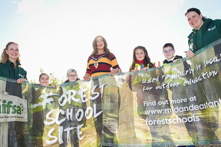 Grow your knowledge with Mid and East Antrim Forest Schools Programme image