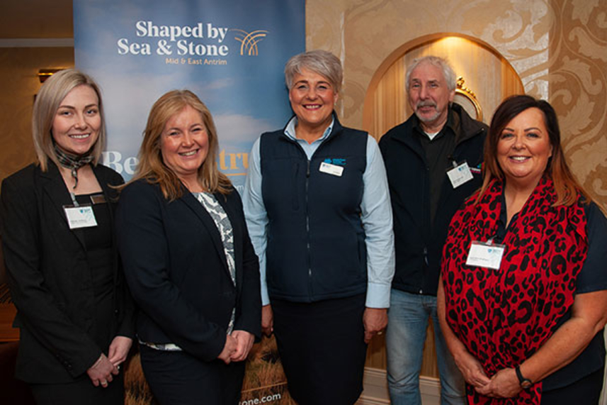 Hospitality speed networking event held in Adair Arms image