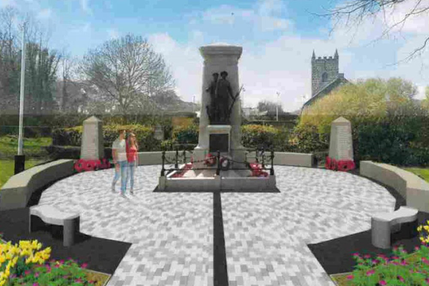 Mid and East Antrim Borough Council's plans for investment works at Larne War Memorial image