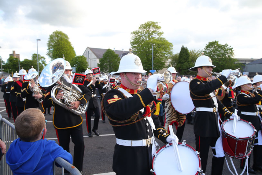 Ticket details announced ahead of The Band of Her Majesty's Royal Marines' spectacular display image