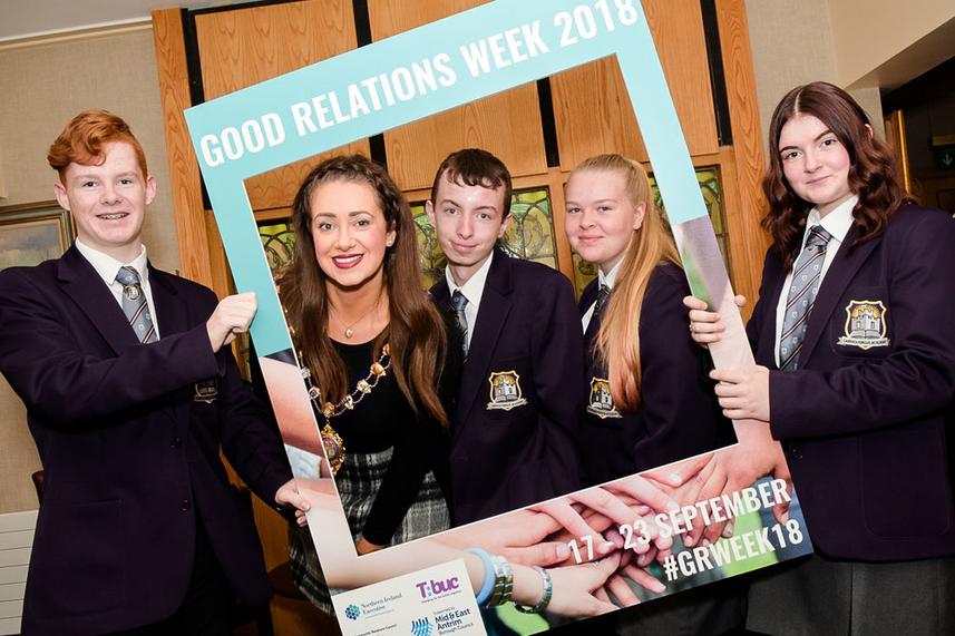 Mayor celebrates good relations programme image