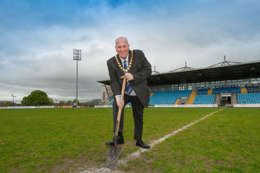 Mayor's charity to net cash boost as football fans offered the chance to own a piece of history image