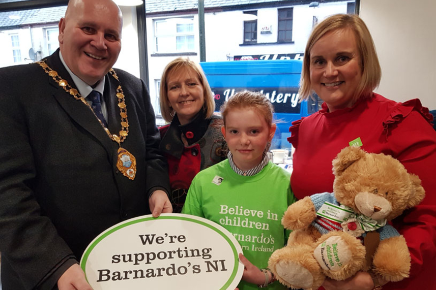 "Mayor's praise for ""inspirational"" 11-year-old's big-hearted Valentine's Day charity fundraiser image"