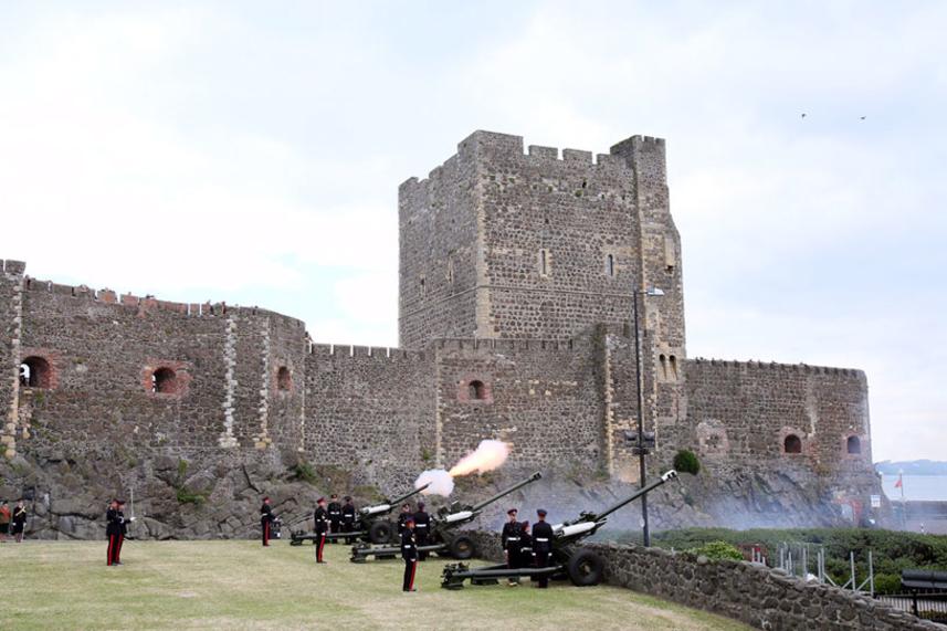 Mid and East Antrim salutes Duke of Edinburgh with a bang image