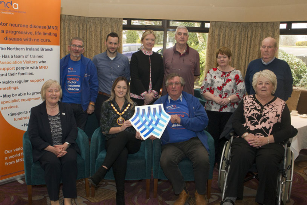 Council giving its full support to those living with motor neurone disease in Mid and East Antrim