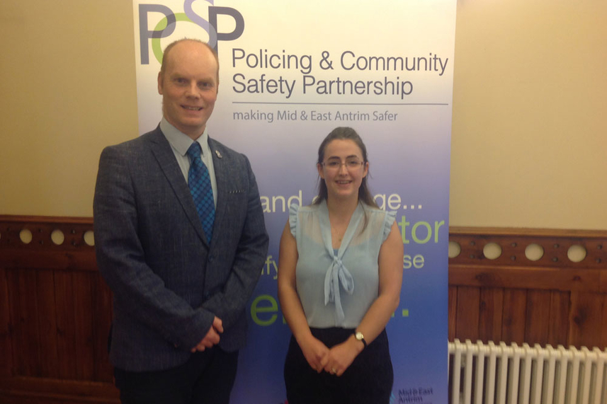 New chair and vice chair for Mid and East Antrim PCSP image