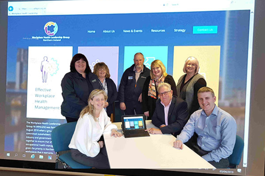 New web portal launched to support employers with workplace health image