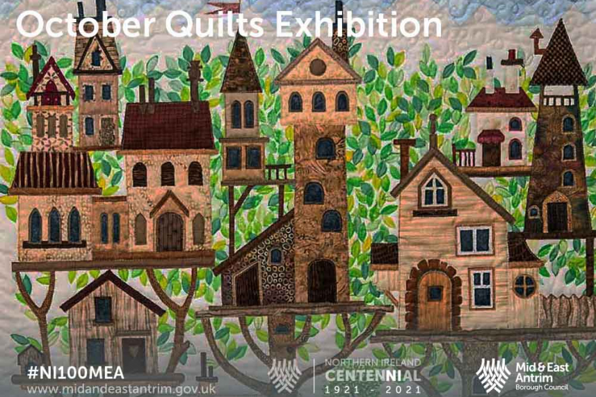 There's No Place Like Home - An exhibition of themed quilts image
