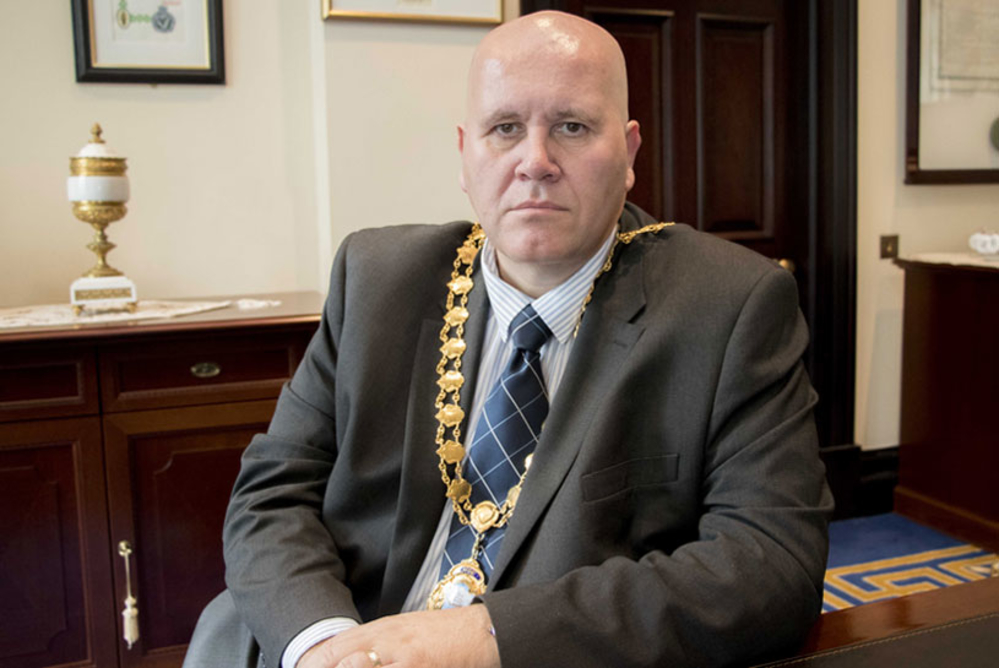 Mayor Paul Reid