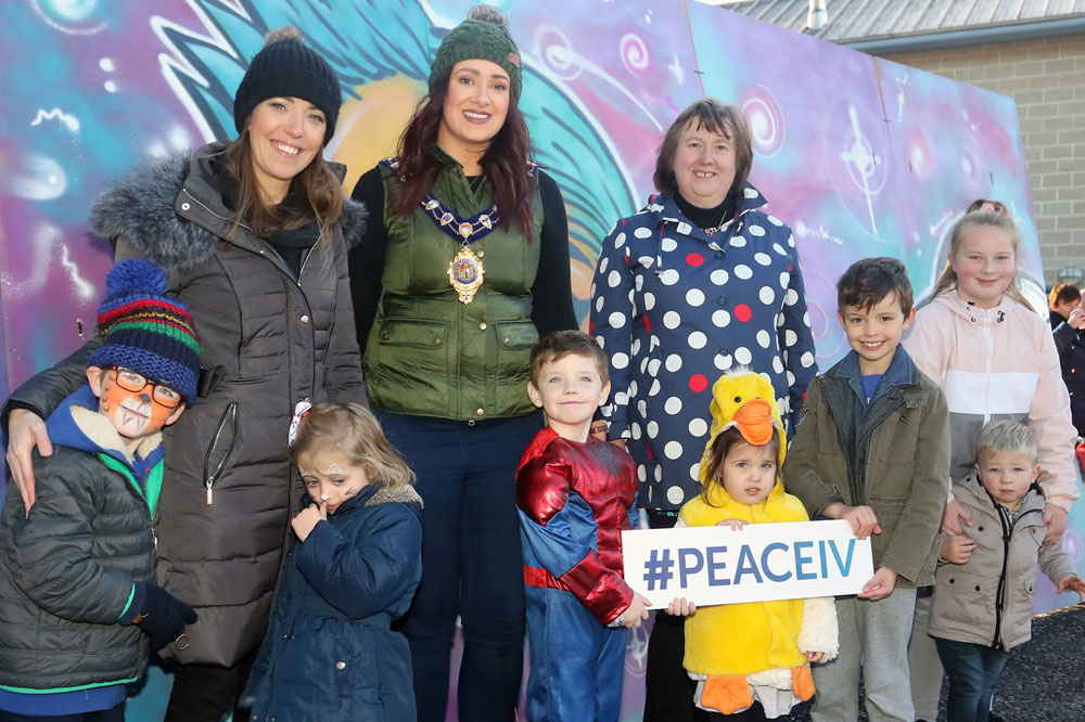PEACE IV Party in The Park Event takes place in People's Park, Ballymena