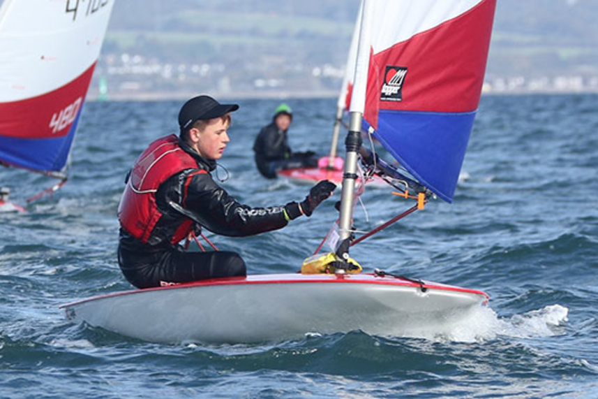 Plain sailing for Tom with Youth Ambassador Award image