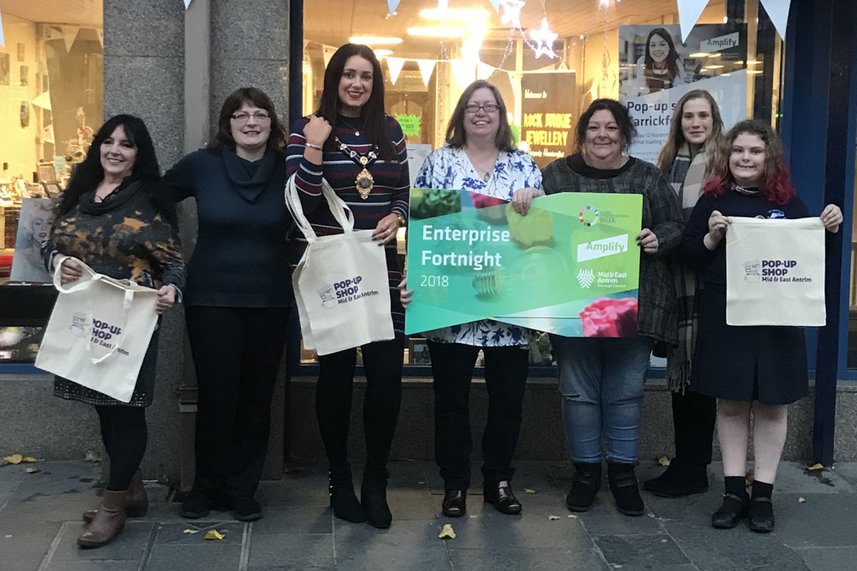 Pop-up shops now open for business in Mid and East Antrim image