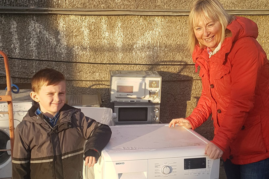 Recycling residents in Mid and East Antrim offered the chance to win an Amazon Fire HD image