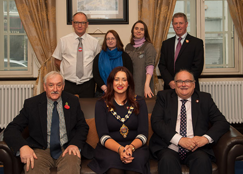 Researchers' work on additional names for Ballymena War Memorial recognised