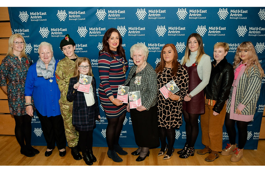 Warm welcome for Ice Maidens inspiring women in Mid and East Antrim image