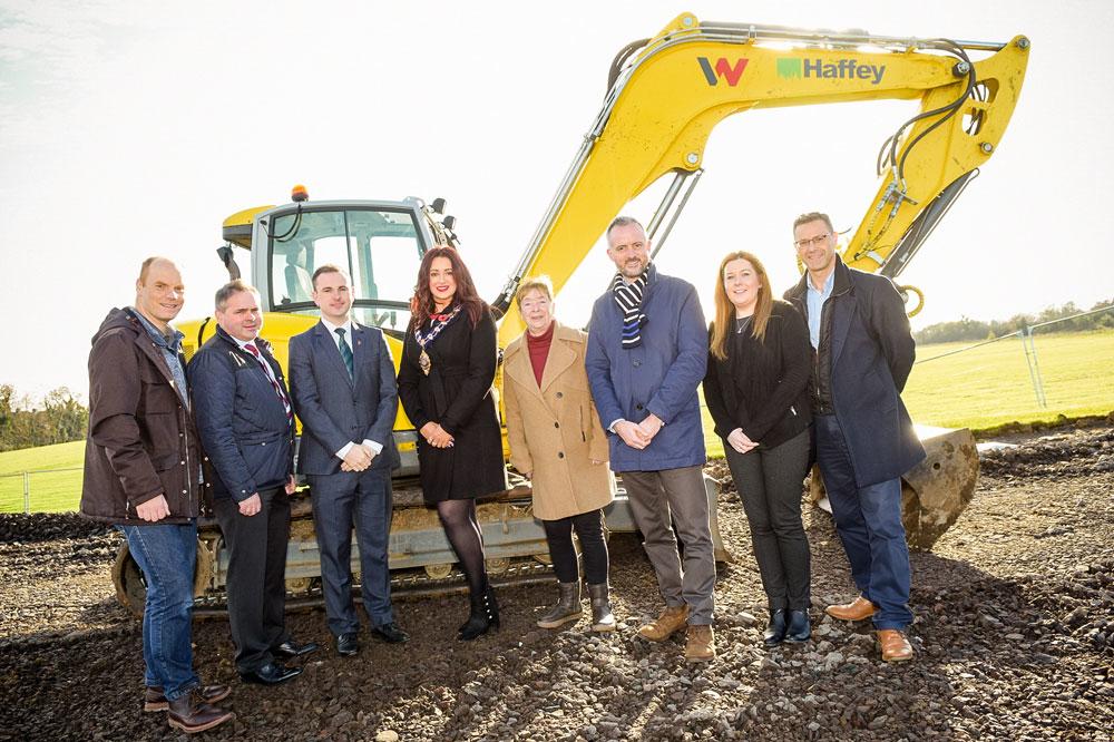 Work kicks off on Greenisland's new 3G football pitch