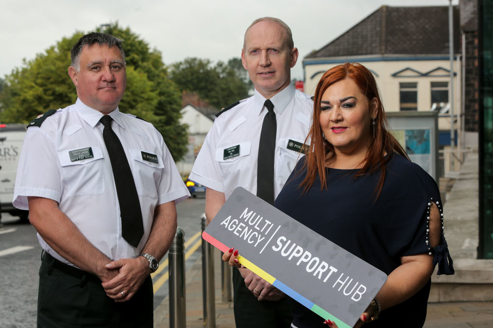 Mid and East Antrim's 'Support Hub' has helped change more than 100 lives for the better since it launched a year ago.